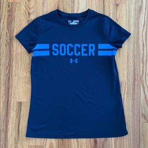 Youth Under Armour soccer shirt